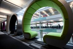 Limca Cuts from Planet Earth: BBC North collaboration pods. Or speed dating wheels?