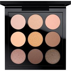 Eye Shadow x 9 Amber Times Nine MAC Cosmetics Canada Official Site ($42) ❤ liked on Polyvore featuring beauty products, makeup, eye makeup, eyeshadow, beauty, eye shadow, mac cosmetics eyeshadow, palette eyeshadow and mac cosmetics