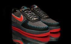 new arrival cbe6c d2366 Forced Up. (My Shoe game sick) · BESPOKE NIKE AIR FORCE 1 BY JD BELTRAN  Custom Sneakers, Custom Shoes, Men Sneakers