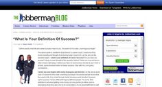 """#JobbermanPost: """"What Is Your Definition Of Success?"""""""