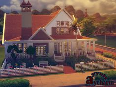 Aycharm house by ayyuff at TSR via Sims 4 Updates