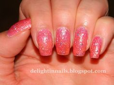 Delight In Nails: Nail Art Featuring Nicole by OPI Candy Is Dandy