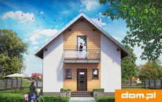 DOM.PL™ - Projekt domu AN KRASNAL CE - DOM AO10-85 - gotowy koszt budowy Cabin, Mansions, House Styles, Outdoor Decor, Home Decor, Decoration Home, Manor Houses, Room Decor, Cabins