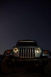 Nothing like a sky full of stars! #jeep #outdoors #offroad
