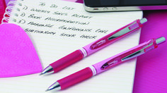 Pentel support Breast Cancer Campaign