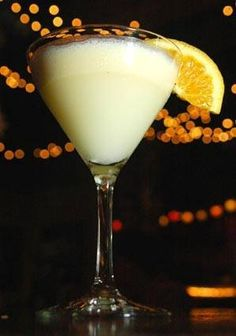Creamsicle Martini    Stoli Orange Vodka    Vanilla Smirnoff Vodka    A splash of O.J. and ice cream