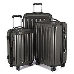 Shop the latest collection of HAUPTSTADTKOFFER Luggage Sets Alex UP Hard Shell Luggage Spinner Wheels 3 Piece Suitcase TSA Graphite from the most popular stores - all in one place. Similar products are available. Best Luggage, Hand Luggage, Carry On Luggage, Luggage Sets, Travel Luggage, Cheap Luggage, Small Luggage, Cabin Luggage, Shopping