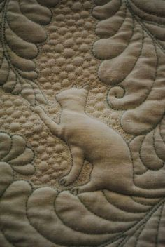 quilted cat