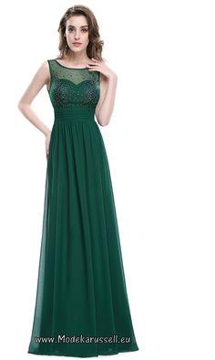 A-Linie Abendkleid Tabitha Grün