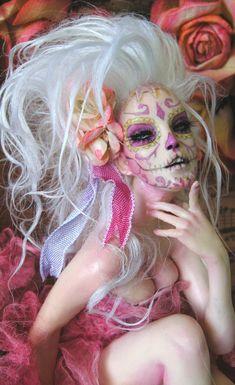Rococo Dia de los Muertos 2 by wingdthing.deviantart.com