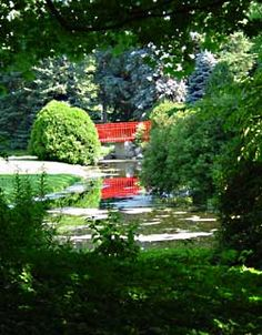 Dow Gardens in Midland, Michigan... Oh... the Memories here...