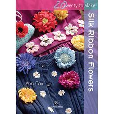 Search Press Books-Twenty To Make Silk Ribbon Flowers