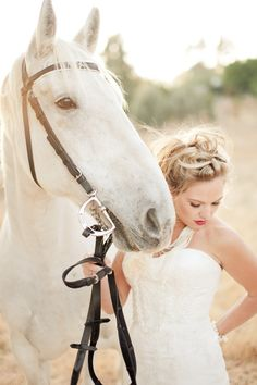 This is another wedding theme where horses are totally appropriate.