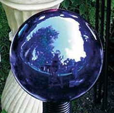 Echo Valley 8600 Mirrored Gazing Globe, Blue by Echo Valley. Save 21 Off!. $14.95. Available in blue color. Slight imperfections such as bubbling and dimpling are common. Mirrored gazing globe. Measures 6-inch diameter. Individually hand blown glass gazing globes with a brilliant mirror finish. This mirrored gazing globe is available in blue color. Individually hand blown glass gazing globes with a brilliant mirror finish. Slight imperfections such as bubbling and dimpling are common and…