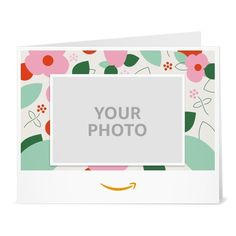 Amazon Gift Card  Upload Your Photo Print  Love Floral *** Want additional info? Click on the image.
