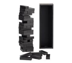 Black Stacking Blocks