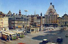 Bienvenue sur la Grand'Place de Lille en 1972 !