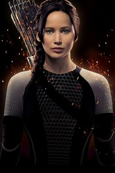 Jennifer in the new Catching Fire promo pic