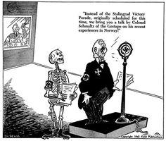 The extraordinarily surreal World War II editorial cartoons of Dr. Seuss