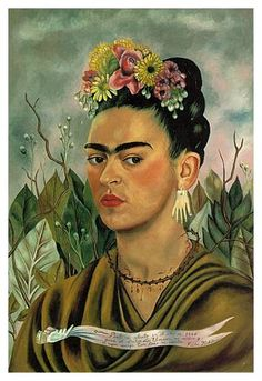 Frida Kahlo, Self portrait, 1940