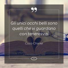 Coco Chanel è stata una celebre stilista francese capace, con la sua opera, di rivoluzionare il concetto di femminilità e non solo. #frasi #aforisma #salmoiraghieviganò #salmoiraghi #occhi #eyes #aforismi #vista #chanel