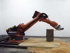 Robot tronçonneuse [video] - http://www.2tout2rien.fr/robot-tronconneuse-video/