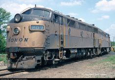 RailPictures.Net Photo: MON 207 Monon EMD F3(A) at Hammond, Indiana by David Hawkins