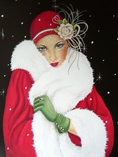 Janet Pendlebury uploaded this image to 'ART DECO LADIES'.  See the album on Photobucket.