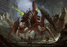 Art: RTS game Stormrise concept arts (update 10/02/2010)