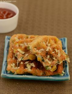 Cheesy Corn Rava Waffles, crispy and soft, a perfect anytime  snack.
