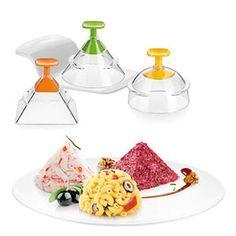 Un idea per creare antipasti, contorni e dolci con vari strati. Con i copapasta Tescome Presto potete impiattare in maniera originale e senza far fatica!
