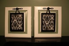 Turn Old Cabinet Doors into Pretty Art for the Wall {Tutorial} : great tutorial!
