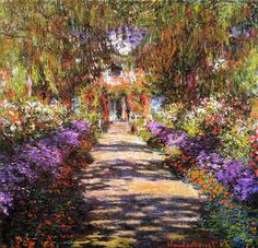 Monet: Pathway in Giverny