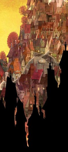 Living Lines Library: Hotel Transylvania (2012) - Visual Development: Environment.