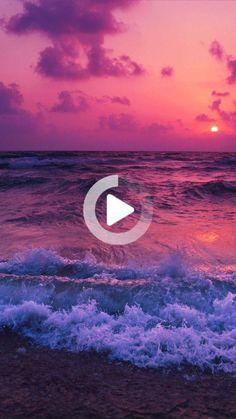 #livewallpaper #iphonelivewallpaper #iphonewallpaper Hd Wallpapers For Mobile, Live Wallpapers, Mobile Wallpaper, Sea And Ocean, Ocean Ocean, Ocean Quotes, Live Wallpaper Iphone, Keep Alive, Pink Clouds