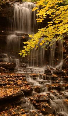 ✯ New Weston, Ohio - Falls on an October afternoon