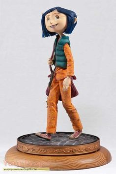 Coraline stop motion animation puppet