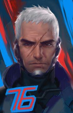 Overwatch - Soldier: 76 - unmasked More