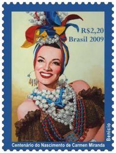 Carmen Miranda stamp