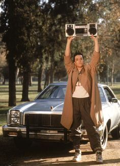 Lloyd Dobler...Say Anything. A movie that still stands up.