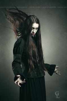Dark witch calling black powers by Lorenzo Gulino on 500px