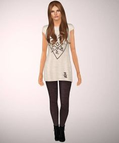 Casual outfit by Flowerish - Sims 3 Downloads CC Caboodle