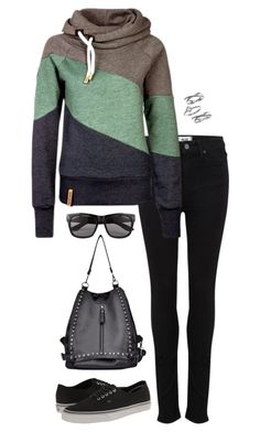 """Untitled #3213"" by meandelstyle ❤ liked on Polyvore featuring Paige Denim, Vans, Vero Moda and Judith Jack"