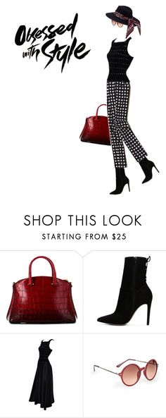 """""""Boots are made for walking"""" by scelestum ❤ liked on Polyvore featuring VBH, ALDO, Tadashi Shoji and Sole Society"""