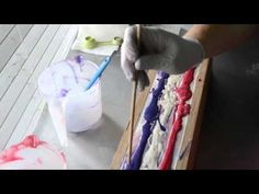 Making & Cutting Aurora Luxury Cold Process Soap - YouTube