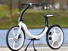 Elektrofahrräder sind im Trend  Elektro-Fahrrad als Design-Objekt: Je mehr Pedelec-Fans es gibt, desto spannender wird das Konzept auch für große Hersteller – so hat VW dieses E-Bike entworfen