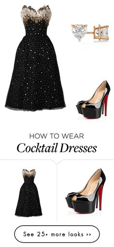 """""""Untitled #10368"""" by danisalalkamis on Polyvore featuring Christian Louboutin and Allurez"""
