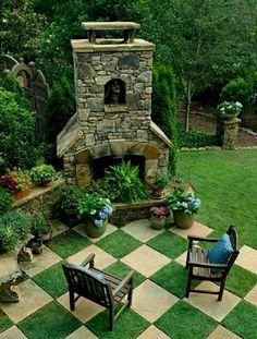 146 Beautiful Backyard Landscaping Design Ideas (102) #LandscapingandOutdoorSpaces