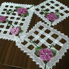 İğne Oyası Dantel takımı #crochet #lace #knit #knitting #örgü