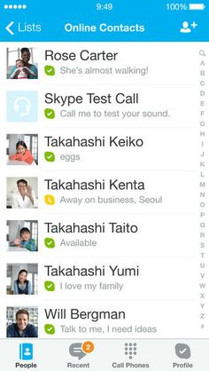 Top Free iPhone App #117: Skype - Skype Communications S.a.r.l by Skype Communications S.a.r.l - 02/26/2014
